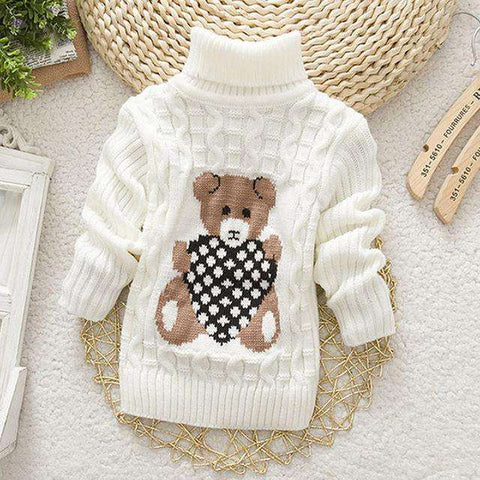 Teddy Sweater - LuxKick Baby Boutique