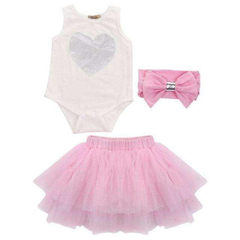 LuxKick Store:Pink Baby Girl:Pink / 0-3 months