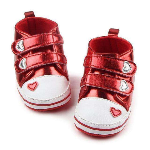 LuxKick Store:Erica:red / 0-6 Months