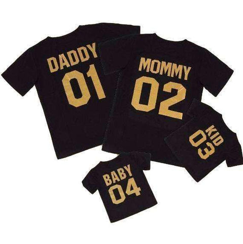 LuxKick Store:Family T-shirts:Daddy S