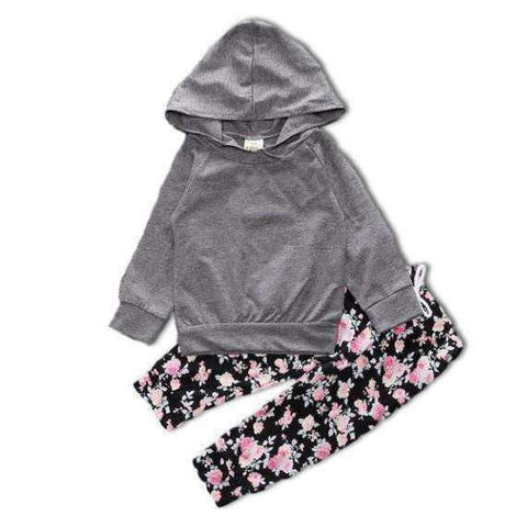 LuxKick Store:Grey and Pink:18M