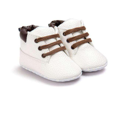 LuxKick Store:Victoria:White / 0-6 Months