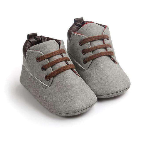 LuxKick Store:Daniel:Gray / 0-6 Months