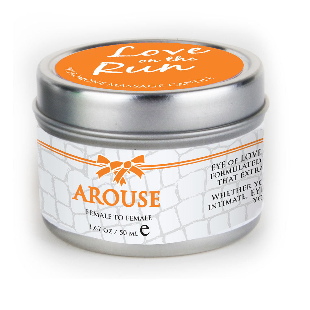 Arouse Pheromone Massage Candle-female attract female