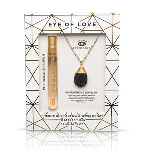 Eye of Love pheromone jewelry gift set