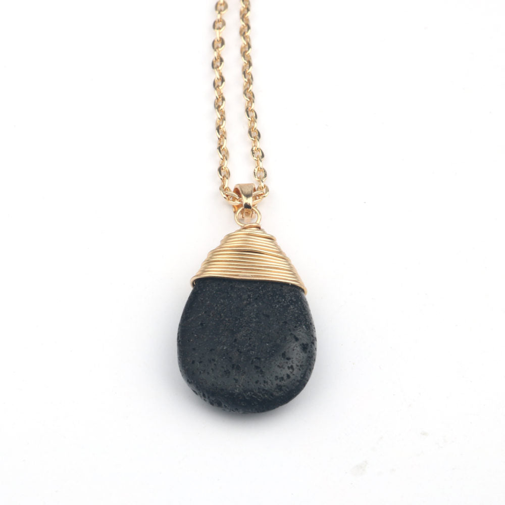 Drop Necklace - Gold
