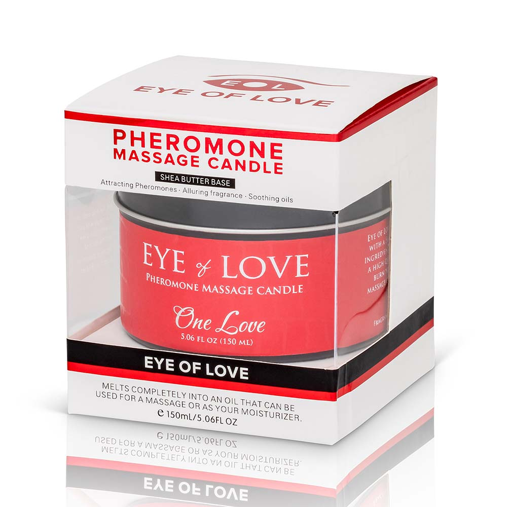 One Love Massage Candle + Free Pheromone Parfum Sample