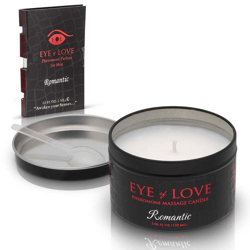 Romantic Massage Candle + Free Pheromone Parfum Sample