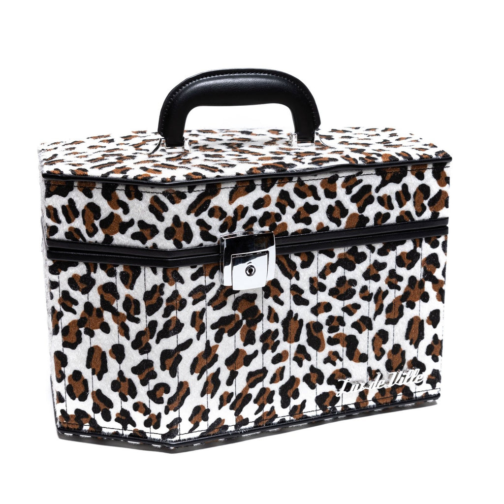 Leopard DeVille Coffin Case