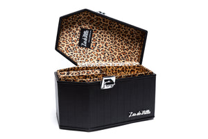 Black Matte DeVille Coffin Case