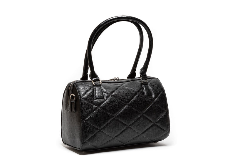 Black Matte Valentine Medium Tote