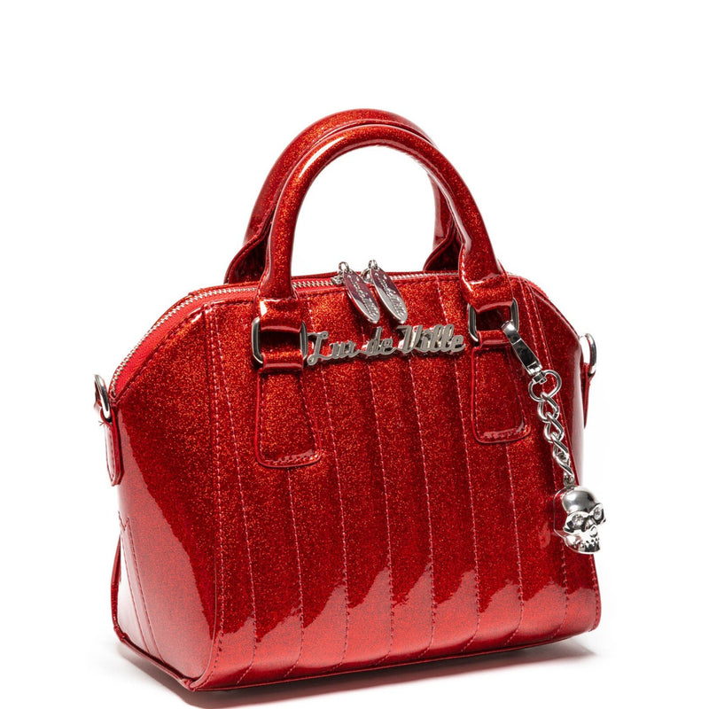 Red Rum Sparkle Mini Lady Vamp Handbag