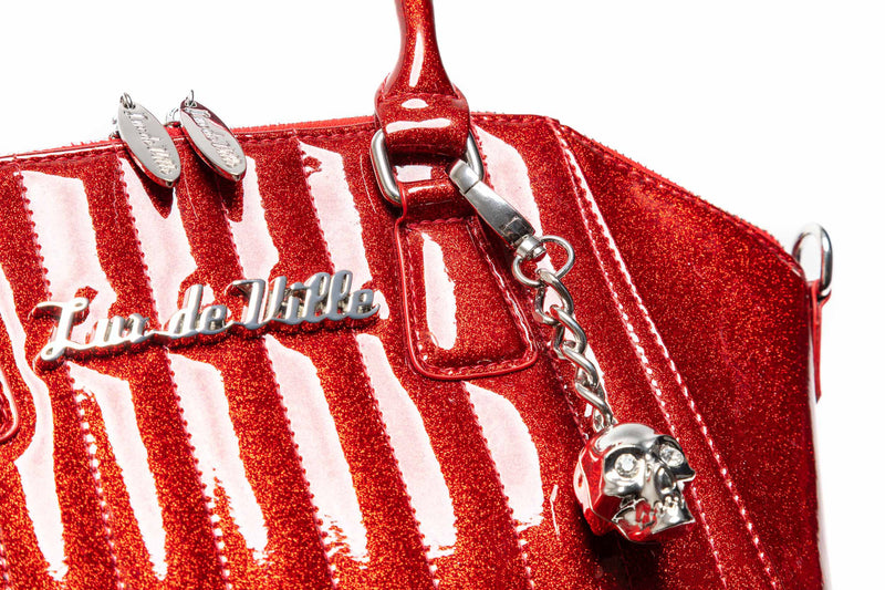 Red Rum Sparkle Lady Vamp Handbag