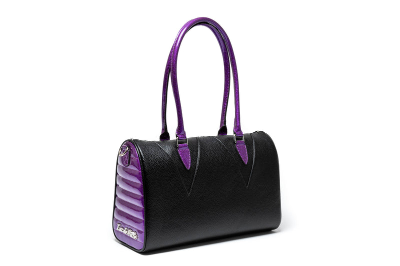 Black Matte & Poisonous Purple Vampire Medium Tote
