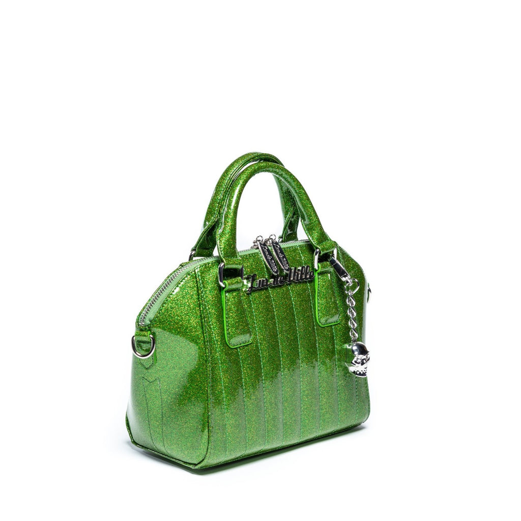 Monster Green Sparkle Mini Lady Vamp Handbag
