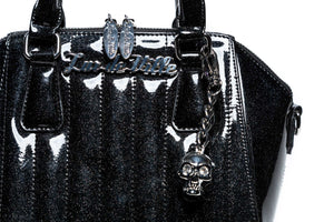 Midnight Sparkle Mini Lady Vamp Handbag