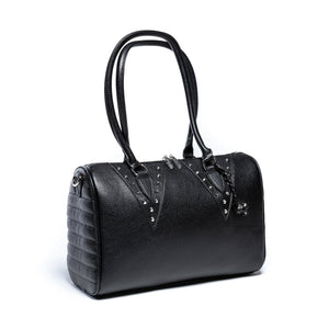 Black Matte Vampire Medium Tote