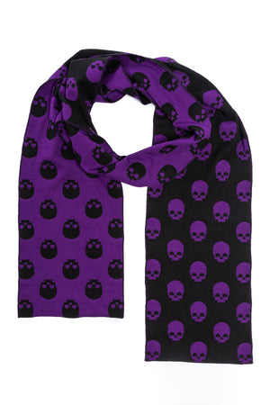Purple Skull Scarf