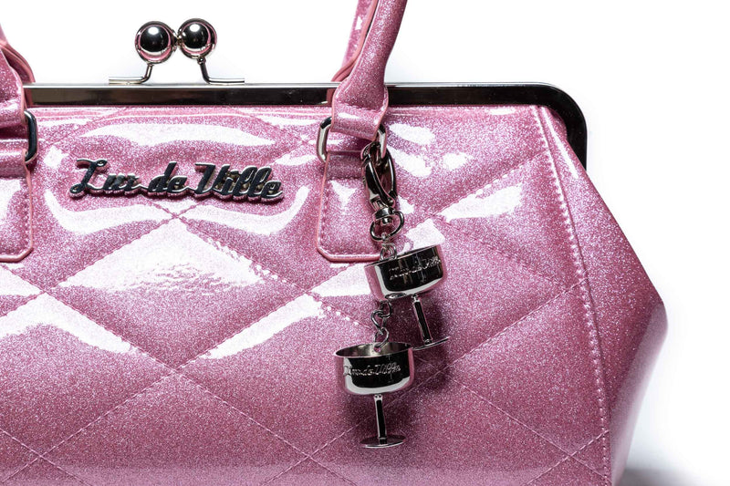 Bashful Blush Sparkle New Year Kiss Lock