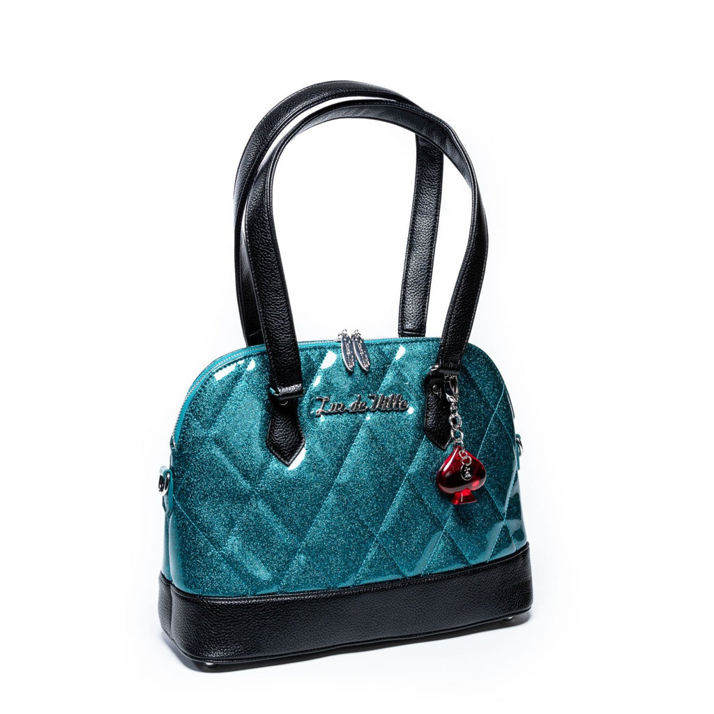 Endless Sea Sparkle & Black Medium Trixie Tote