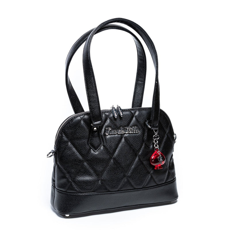 Black Matte Medium Trixie Tote