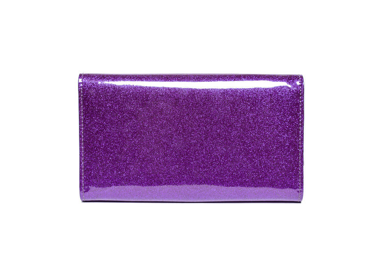 Poisonous Purple Sparkle Getaway Wallet