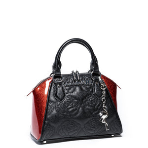 Red Rum Sparkle Mini Shotzy Tote