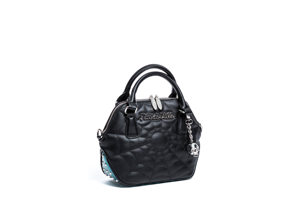 Endless Sea Sparkle & Black Matte Mini Glampira Tote