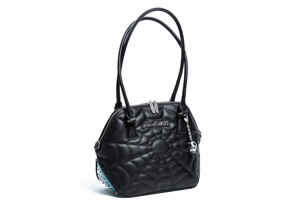Endless Sea Sparkle & Black Matte Glampira Tote