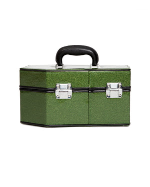 Rockwell Coffin Case Martini Green Sparkle - Mini Atomic Totes