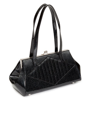 High Roller Kiss Lock Midnight Sparkle - Mini Atomic Totes