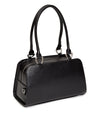 High Roller Tote Black Matte with  Electric Purple Sparkle - Mini Atomic Totes