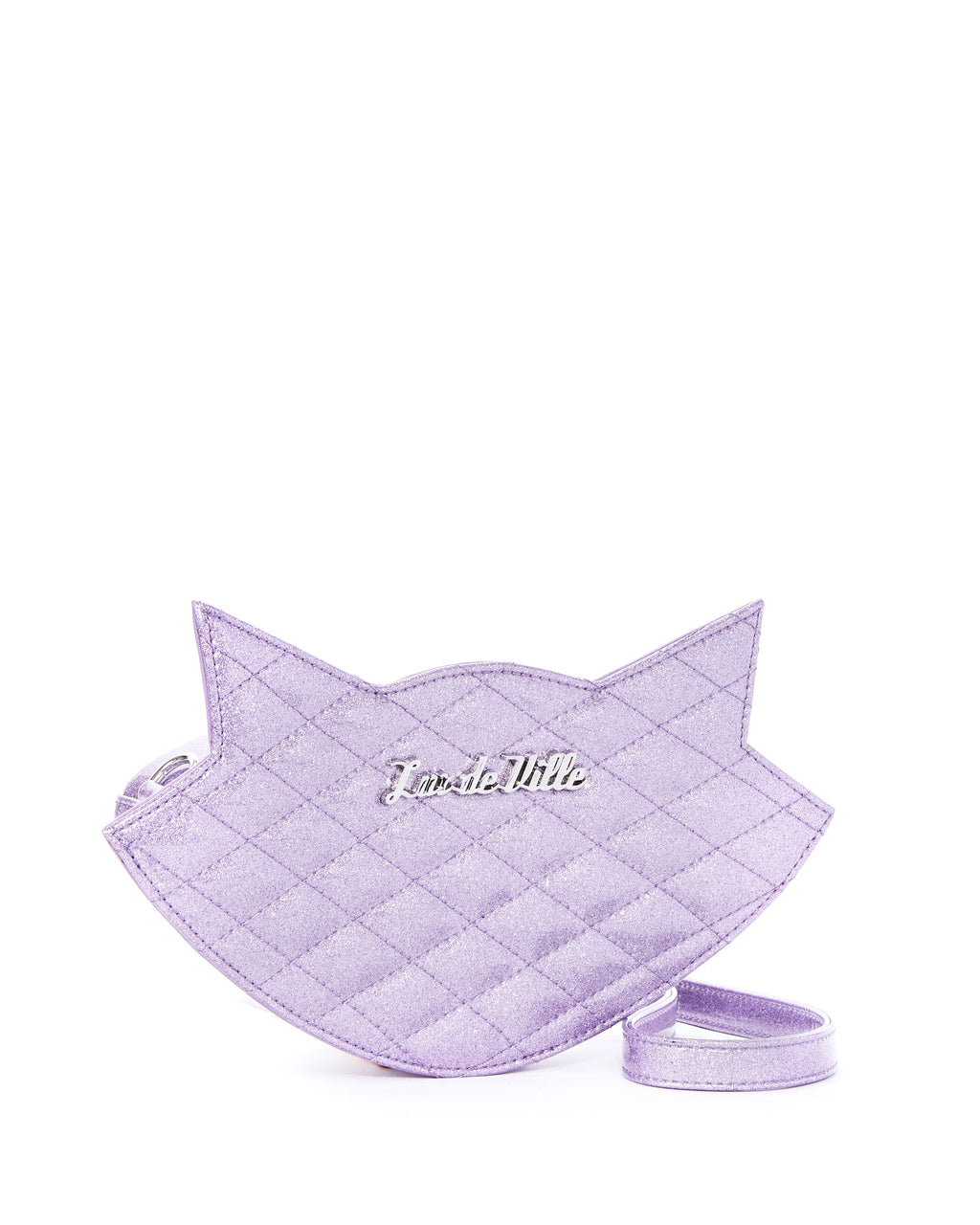 Luscious Lilac Sparkle Meowzer Sash Bag - Mini Atomic Totes