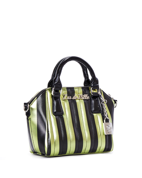 Mini Carnival Tote Green and Black Metallic - Limited Edition