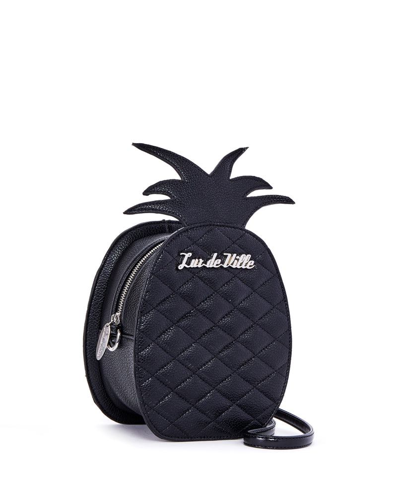 Pineapple Magic Handbag Black Matte - Limited Edition - Mini Atomic Totes