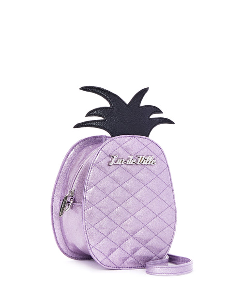 Pineapple Magic Tote Luscious Lilac Sparkle - Limited Edition - Mini Atomic Totes