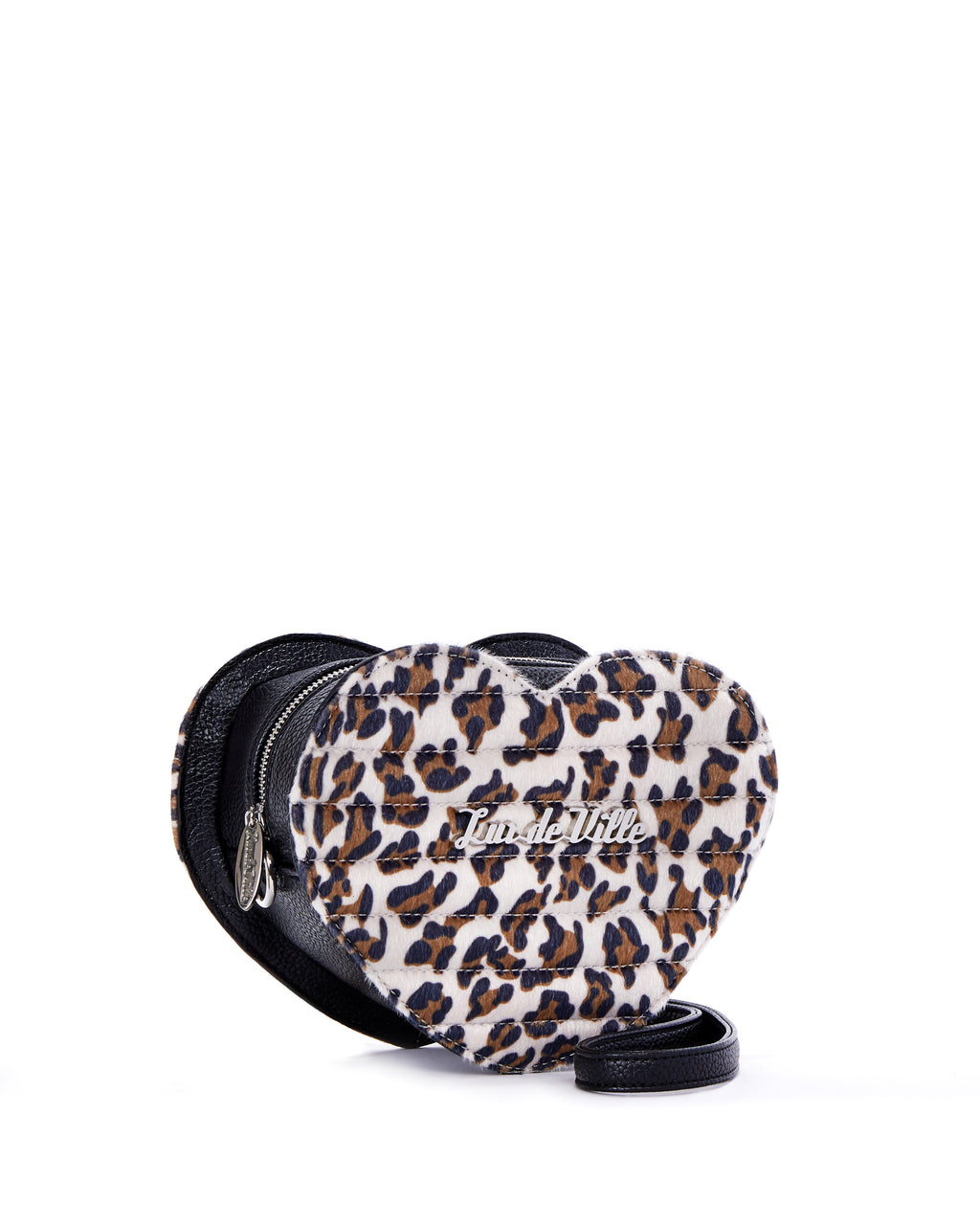 Mini Love You Handbag Brown Leopard - Limited Edition - Mini Atomic Totes