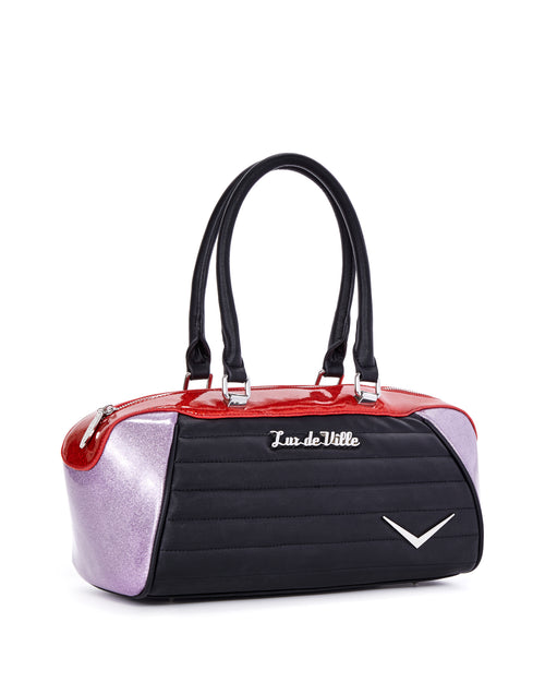 Supernova Tote Red and Lilac Sparkle - Limited Edition