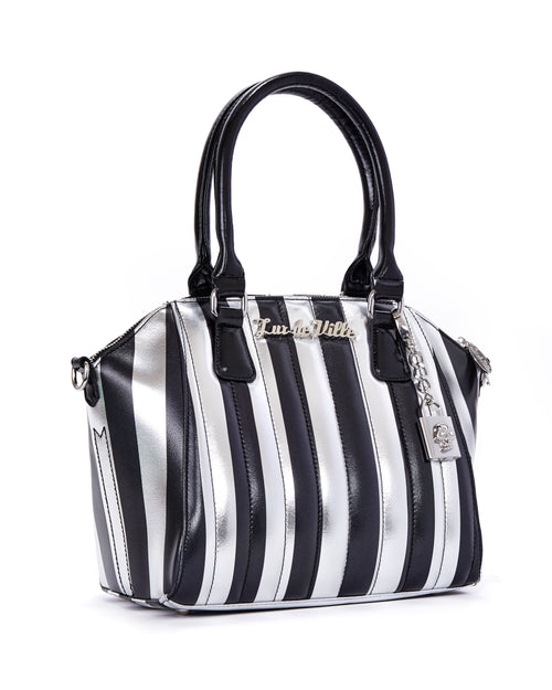 Carnival Tote Silver and Black Metallic - Limited Edition