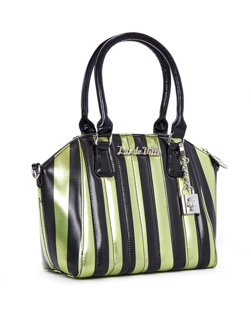 Carnival Tote Green and Black Metallic - Limited Edition
