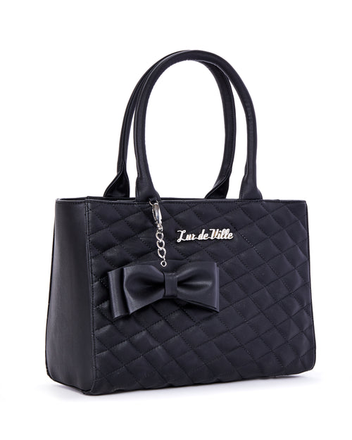 Sweet Pea Tote Black Matte - Limited Edition - Mini Atomic Totes