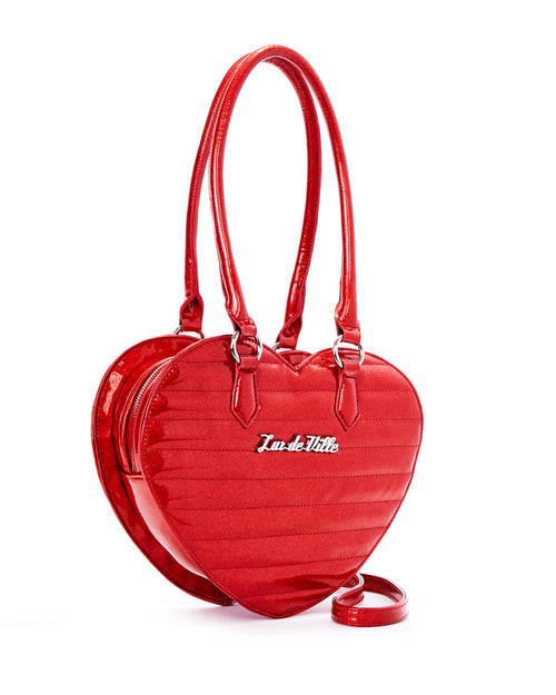 Love You Tote Venom Red Sparkle - Limited Edition - Mini Atomic Totes