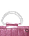 Mermaid Mini Tote Pink Bubbly Sparkle - Mini Atomic Totes