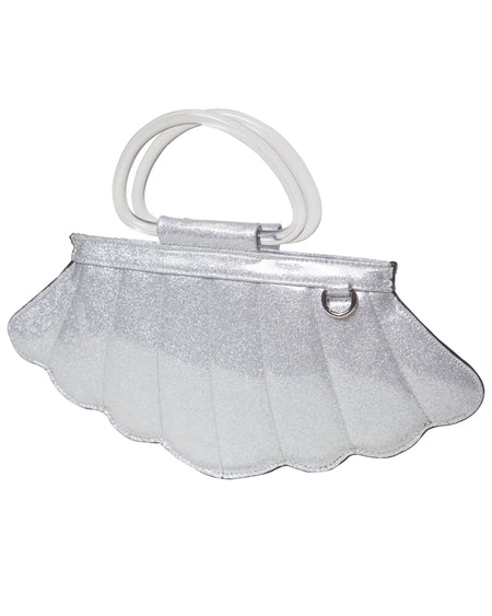 Lucite Box Purse in White