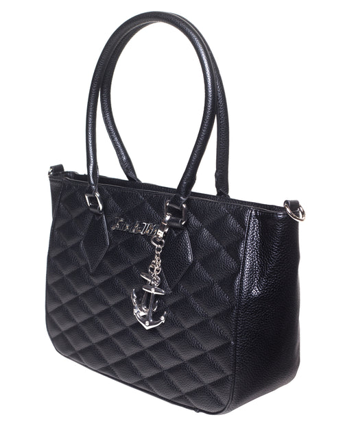 Hold Fast Tote Black Matte - Mini Atomic Totes