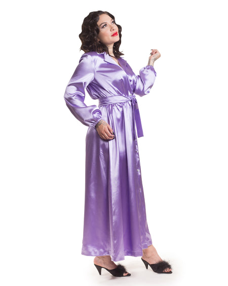 Nightcap Robe in Bubbly Pink