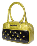 Cosmic Tote Small Black and Gold Sparkle - Mini Atomic Totes
