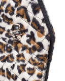 Elvira Coffin Wallet Clutch Leopard - Mini Atomic Totes