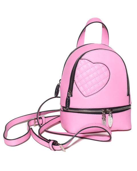 Mini Sweetheart Backpack Matte Pink - Mini Atomic Totes