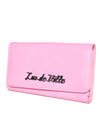 Miss Lux Wallet Matte Pink - Mini Atomic Totes